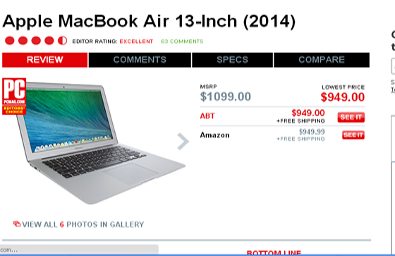 Apple MacBook Air 13-Inch (2014) review