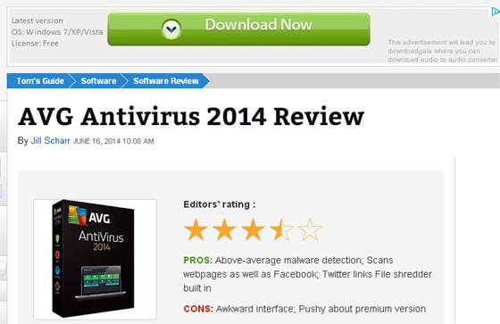 AVG Antivirus 2014 Review